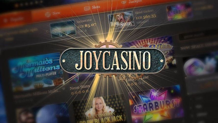 Онлайн казино Джой казино играть